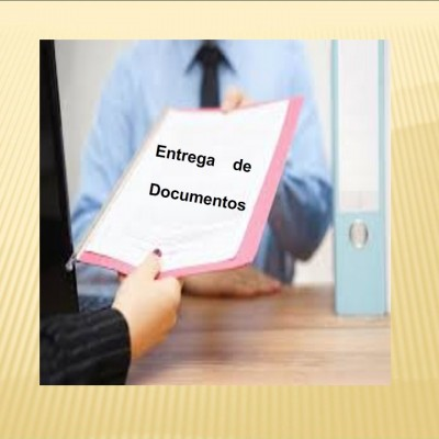 ENTREGA DE DOCUMENTOS