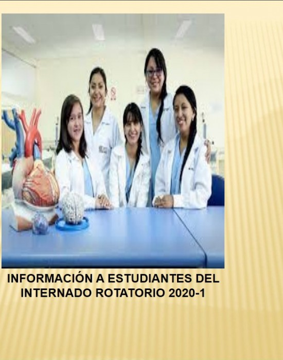 ESTUDIANTES DEL INTERNADO ROTATORIO 2020-1